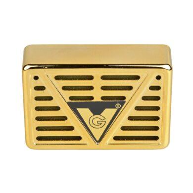 Zvlhčovač obdélníkový, 7,5x5x2,1cm, zlatý(82127)