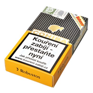 Doutníky Cohiba Robustos C/P, 3ks