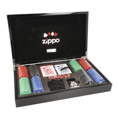 Zippo sada Poker