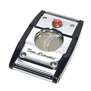 Doutníkový ořezávač Lamborghini Precisione, chrom-černý
