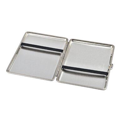 Cigaretové pouzdro na slim cigarety Slim, 18 cig., stříbrné, polomatné
