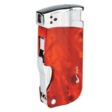 Dýmkový zapalovač Hadson Pipe Multi, hnědý