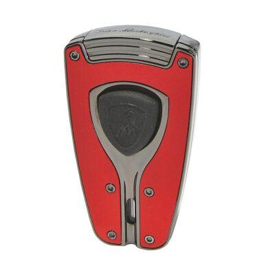 Tryskový zapalovač Lamborghini Forza, červený