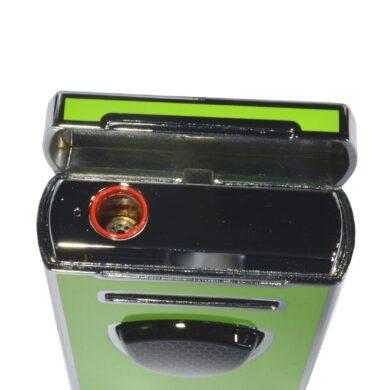 Doutníkový zapalovač Lamborghini Pergusa, zelený