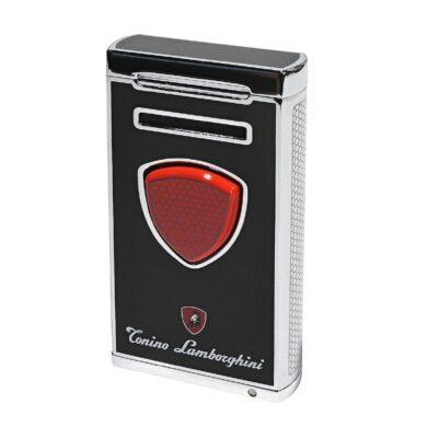 Doutníkový zapalovač Lamborghini Pergusa, černý