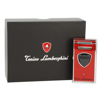 Doutníkový zapalovač Lamborghini Pergusa, červený