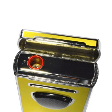 Doutníkový zapalovač Lamborghini Pergusa, žlutý