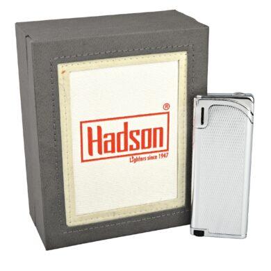 Zapalovač Hadson Slim, chrom, káro