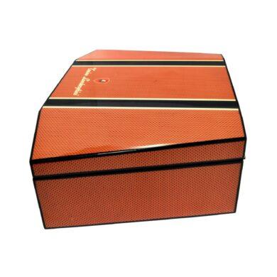 Humidor na doutníky Lamborghini Misano oranžový
