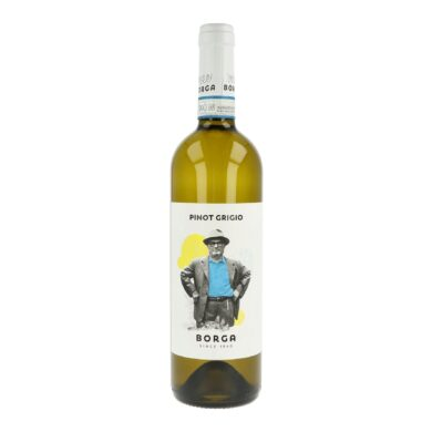 Víno Borga Pinot Grigio DOC 0,75l 2018 12,5%, bílé(IPGDOCVZ75)