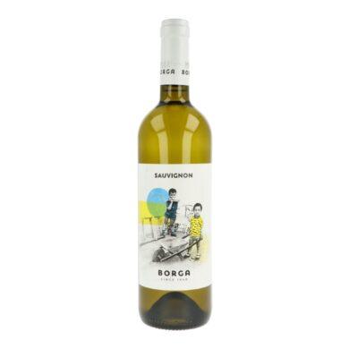 Víno Borga Sauvignon IGT 0,75l 2018 12,5%, bílé(ISAUVZE75)