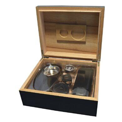 Doutníkový Humidor Set černý 30D, stolní(920300)