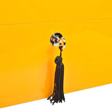 Humidor na doutníky Villa Spa žlutý