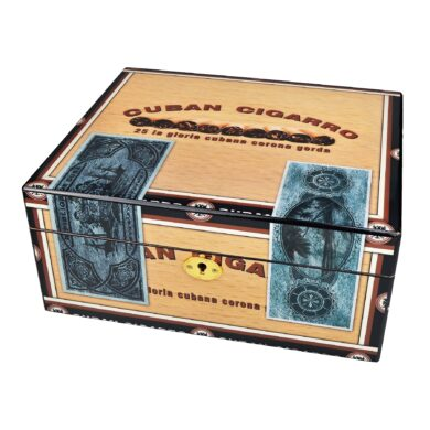 Humidor na doutníky Cuba Cigarro