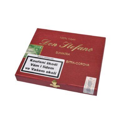 Doutníky Don Stefano Extra Corona Sumatra, 10ks