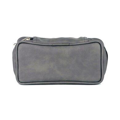 Pouzdro na 2 dýmky Etue, šedé, koženka(33335)