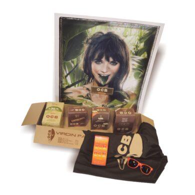 OCB Virgin Paper Box - cigaretové papírky, filtry + bonus(05400)