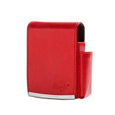 Pouzdro na cigarety Angelo, červené