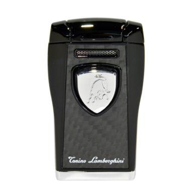 Tryskový zapalovač Lamborghini Argo, černý