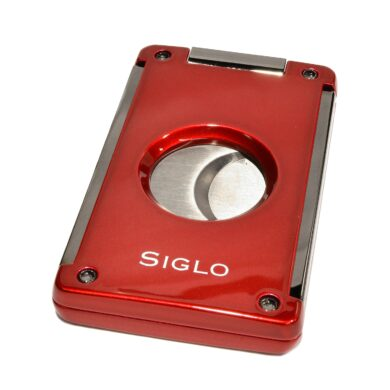 Doutníkový ořezávač Siglo, červený