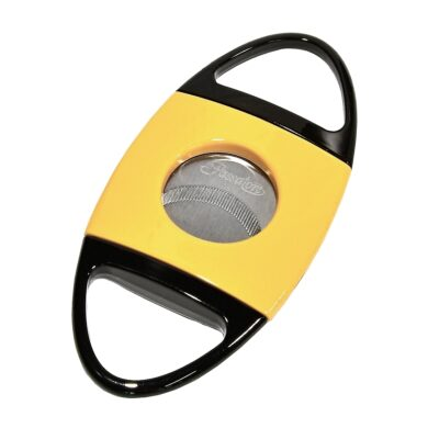 Doutníkový ořezávač Passatore, žlutočerný