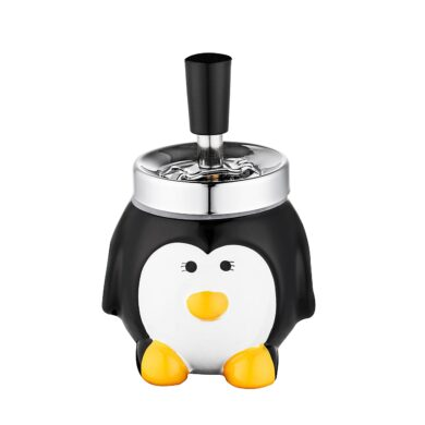 Cigaretový popelník otočný Penguin, keramický(400001)