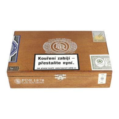 Doutníky PDR Robusto 5*52 1878 Capa Sun Grown, 20ks
