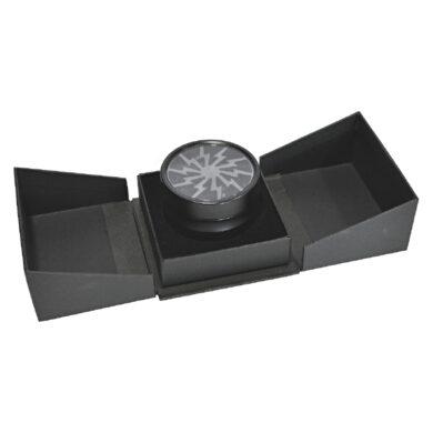 Drtič tabáku Dreamliner Alu - Black, kovový