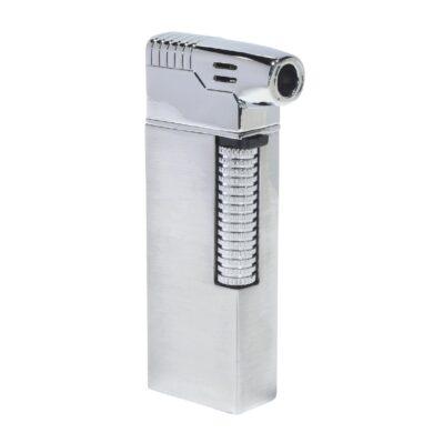Dýmkový zapalovač Hadson Kansas Pipe, stříbrný