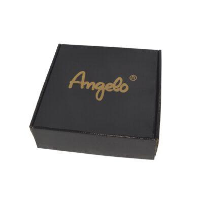 Doutníkový popelník keramický Angelo, černý