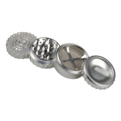 Drtič tabáku Dreamliner ALU - Chain, stříbrný