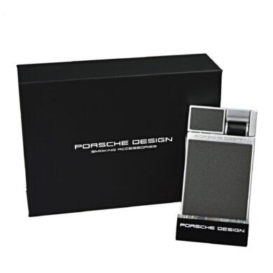 Tryskový zapalovač Porsche Design P3632, šedý