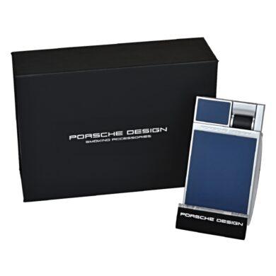 Tryskový zapalovač Porsche Design P3632, modrý