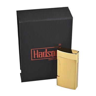 Zapalovač Hadson Dual, zlatý