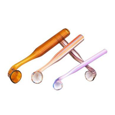 Šlukovka skleněná HM, barevná vroubkovaná(HM 13)