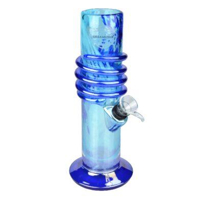 Skleněný bong Dreamliner Spin blue 22cm