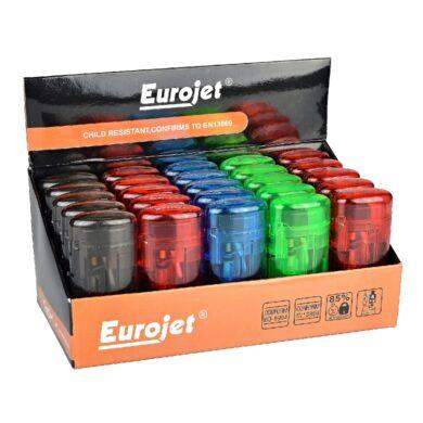 Zapalovač Eurojet Transparent(260013)