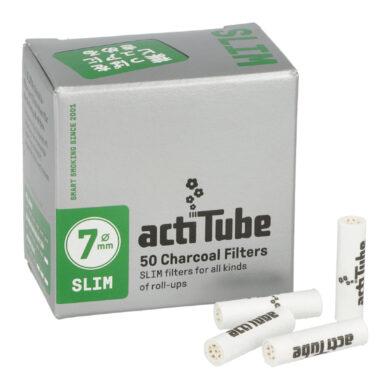 Cigaretové filtry Acti Tube Slim 6,9mm