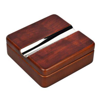 Doutníkový popelník dřevěný