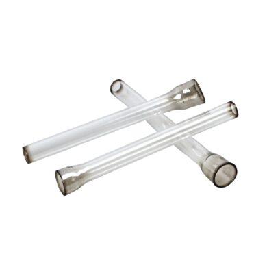Šlukovka skleněná HM, kouřová, mini(HM 4)
