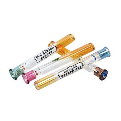 Šlukovka skleněná HM, barevné obrázky(HM 057/B)
