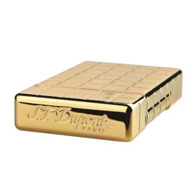 Zapalovač S.T. Dupont Initial Square, zlatý