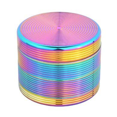 Drtič tabáku kovový Rainbow, 54mm