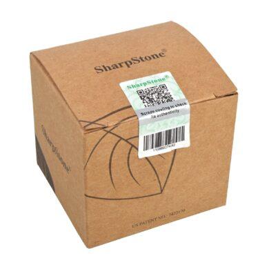 Drtič tabáku ALU Sharp Stone Chrome, 53mm