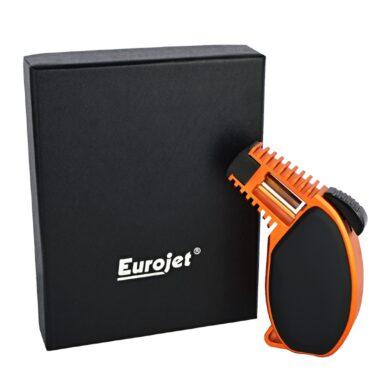 Doutníkový zapalovač Eurojet Torch, black-orange