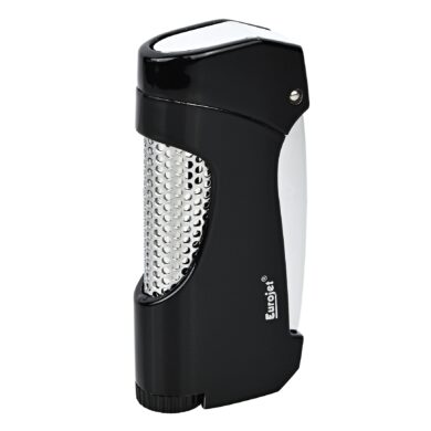 Tryskový zapalovač Eurojet Snap, černý(251170)