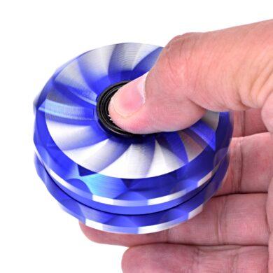 Drtič tabáku kovový Champ High Spinner, 63mm, 6mix