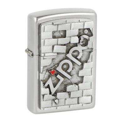 Zapalovač Zippo Wall Emblem, satin(Z 142280)