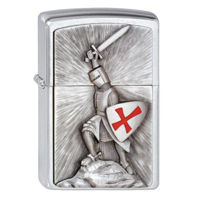Zapalovač Zippo Crusader Victory, broušený(Z 159270)
