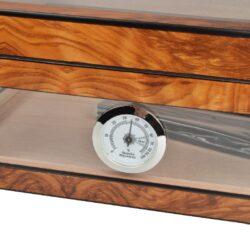 Humidor na doutníky Angelo Brownglass(920004)